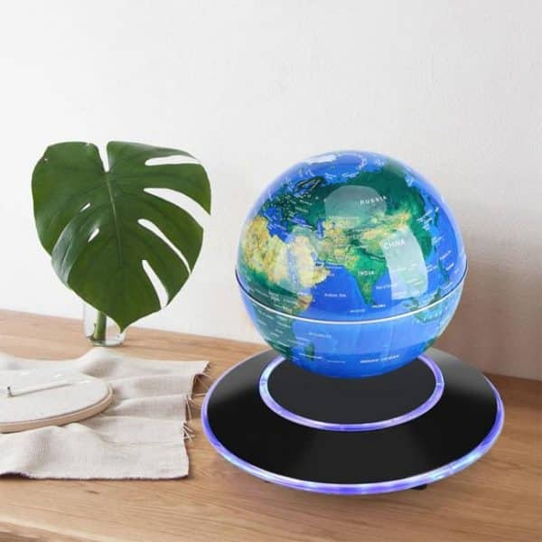 This magnetic levitating globe is an extra ordinary showpiece