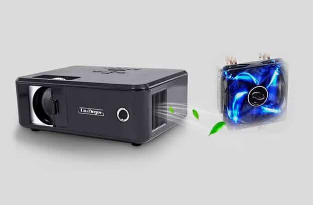 Projector Cooling Fan Described