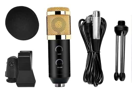 BM100FX Microphone Box Picture