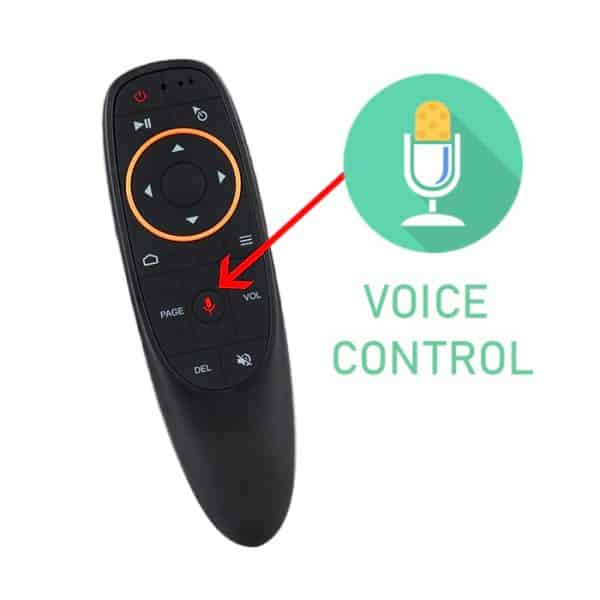 G10S Voice Control Remote With Air Mouse