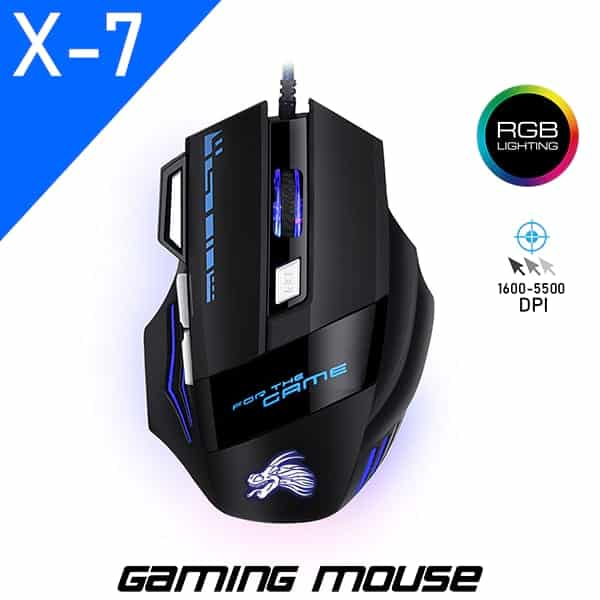 X7 Gaming Mouse For Gamers in BD