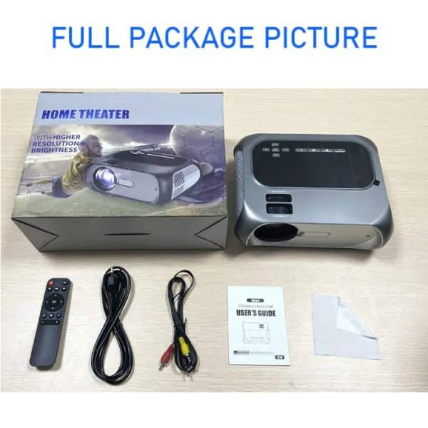 T8 projector With LED Lamp And 4K Brightness