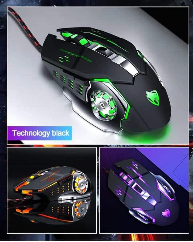 Technology Black Design
