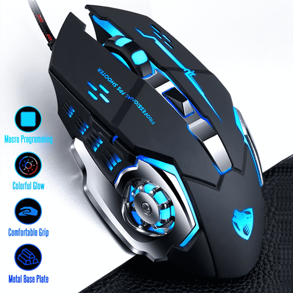 V6 Gaming RGB Mouse Best Price In Bangladesh