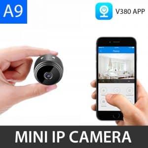 A9 WIFI Mini IP Camera 1080P