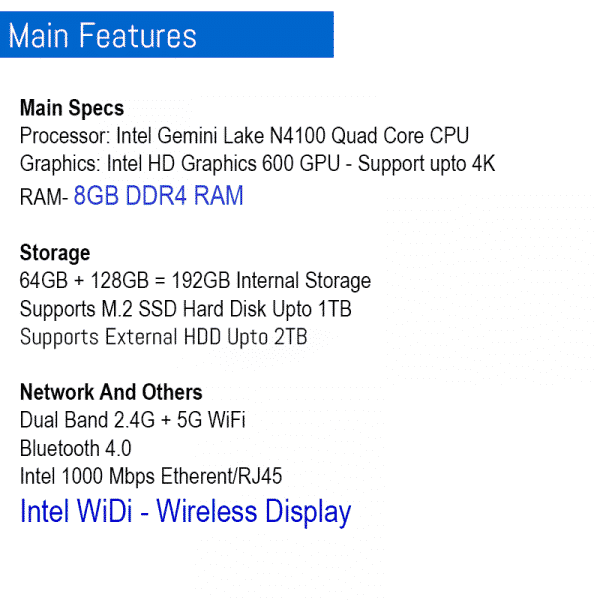 2021 Latest Mini PC In BD Tanix TX88 Low Price High End Pocket PC