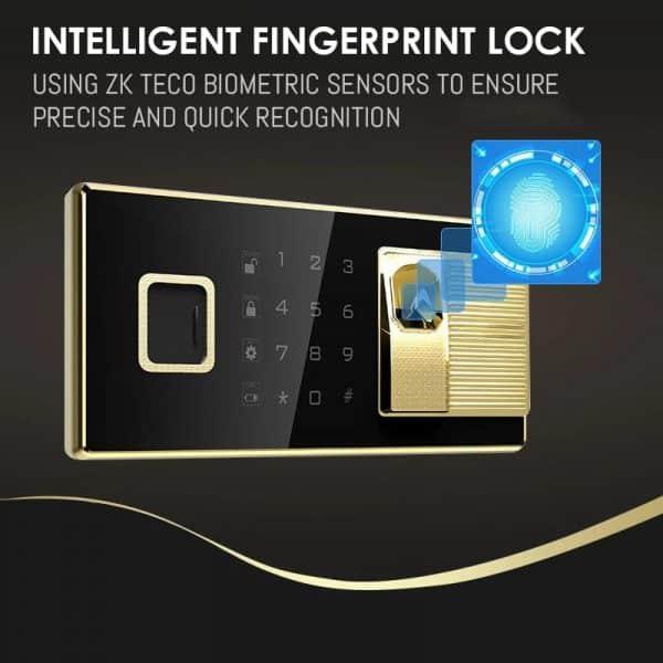 Adopts ZK Teco Biometric Sensor For Accurate fingerprint recognition