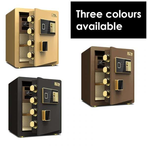 Three colour options for the EL-450F Dual Safety Locker