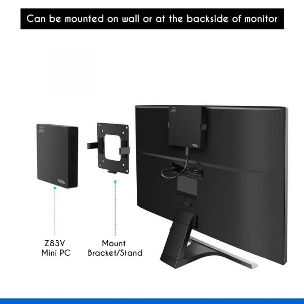 wall mounted mini pc