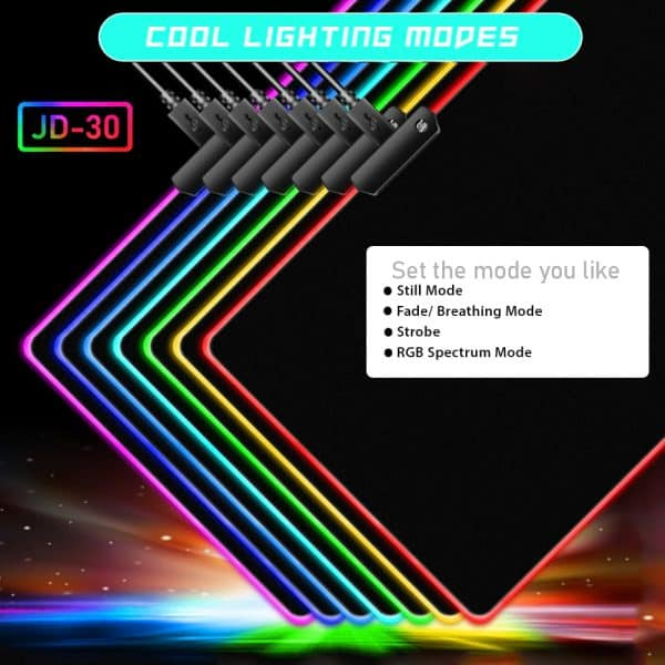 RGB Mouse pad only at a price of 650 BDT