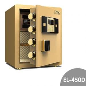 Zymak EL-450D Digital Safety Locker Golden Colour