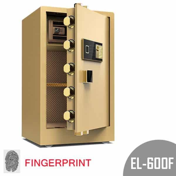 Zymak EL-600F Digital Plus Fingerprint Dual Safety Locker In BD