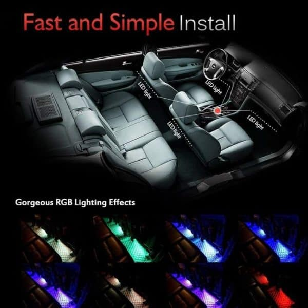 CL-029 car interior light is fast and easy to install car modification