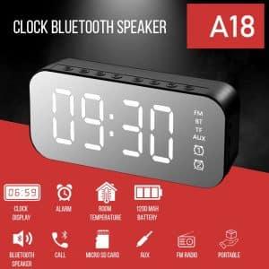 A18 Alarm Clock Bluetooth Speaker Price In Zymak BD